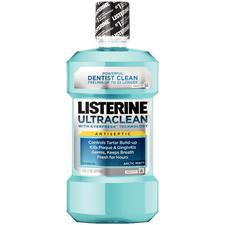 Listerine® Ultraclean® Antiseptic Mouthwash