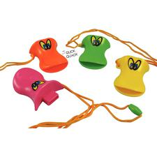 Duck Beak Whistle, Assorted Colors, 3