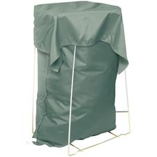 """Fashion Shield® Barrier Laundry Bag with Cover Flap – Drawstring, Straight Bottom, 30""""W x 40""""L, Misty Green"""