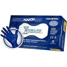 HandPRO® RoyalTouch300™ Nitrile Exam Gloves – Powder Free, Royal Blue