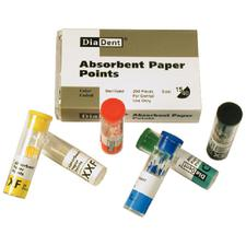 Absorbent Paper Points – Vials, ISO Sizes