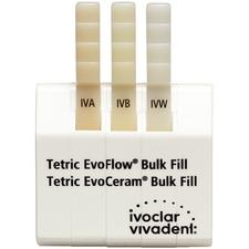 Tetric EvoFlow®  Bulk Fill Shade Guide