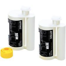 Matériau d'empreinte Affinis® Black Edition – Viscosité élevée, cartouche de 380ml, ensemble de recharge