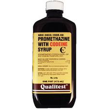 Promethazine with Codeine – Grape Menthol, Syrup, 1/Pkg