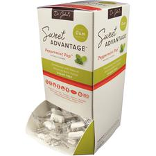Dr. John's Sweet Advantage™ Gum, Pepermint Pop™ and Fruity Punch, Xylitol Sweetened, 230 Pieces/Pkg