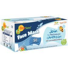 BeeSure® Earloop Face Masks – ASTM Level 2, 50/Pkg