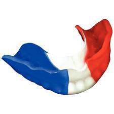 Laminés tricolores pour protecteur buccal Pro-Form– 0,160'', rouge/blanc/bleu, 12/emballage