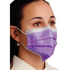 Breathe E-Z Pleated Ear Loop Masks – ASTM Level 1, 50/Pkg