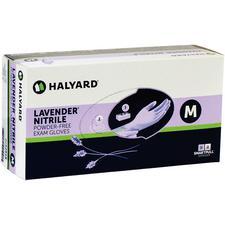 Lavender Nitrile Exam Gloves – Powder Free, Latex Free