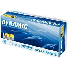 Gants en nitrile Dynamic® – Non poudrés, blancs, 200/boîte