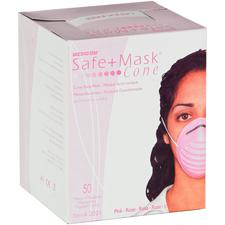 Safe+Mask® Cone Face Mask – 50/Box
