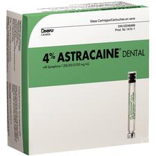 Astracaine™ – Articaine HCL 4% with Epinephrine, 1.8 ml Cartridges, 100/Pkg