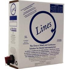 Lines™ Instrument Cleaning Solution, 5 Liter Bag