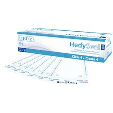 HedySeal PRO Class 4 Self-Sealing Sterilization Pouches – White, Nonsterile, Powder free