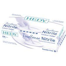 Gants d'examen en nitrile TrueSense indigo, 250/boîte