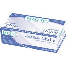 Hedy® Latitude Nitrile Gloves – Indigo, 100/Box