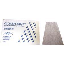 Occlusal Inserts, 25/Pkg