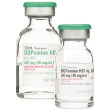 Dopamine Hydrochloride – Injection, 25/Pkg