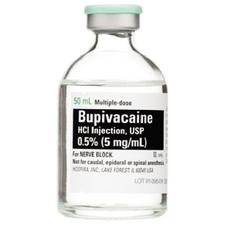 Bupivacaine Hydrochloride (HCl) – Injection, 25/Pkg