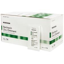 Bacitracin Zinc Ointment, 500 Units Strength, 0.9 g Individual Packets, 144/Pkg
