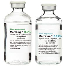 Marcaine™ Injection – Multiple Dose Glass Fliptop Vial, 1/Pkg