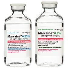 Marcaine™ with Epinephrine Injection – Multiple Dose Glass Fliptop Vial, 1/Pkg