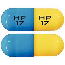 Tetracycline Hydrochloride (HCl), Capsules, 250 mg Strength 100/Pkg, NDC 23155-0017-01