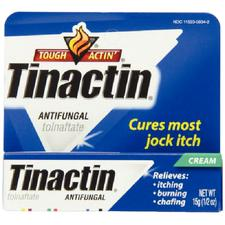 Tinactin® Antifungal Cream – 1% Strength, 15 g, 1/Pkg, NDC 11523-1190-01