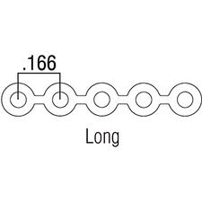 Patterson® Plastic Chain – Long, 15 Feet/Spool