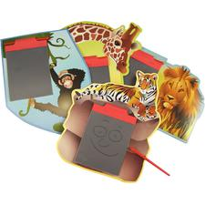 Safari Animal Magic Pad, Assorted, 5-7/8