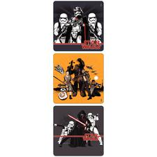 "Movie Licensed Stickers, 2-1/2"" W x 2-1/2"" H, Six Designs/Roll, 100/Roll"