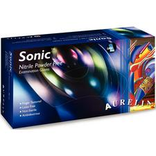 Aurelia® Sonic™ Nitrile Exam Gloves, Powder Free