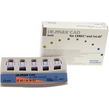 IPS e.max® CAD LT (Low Translucency) Abutment Blocks – Size A16, 5/Pkg