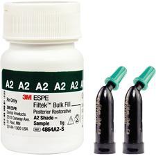 Filtek™ Bulk Fill Posterior Restorative Sample – 0.2 g Capsule Refill, 5/Pkg