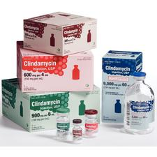 Clindamycin – Injection, Single Dose, Vial, 25/Pkg