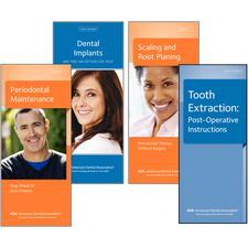 """ADA® Brochures, 8 Panel, 3-7/8"""" W x 9"""" H, 50/Pkg"""