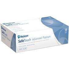 Gants SafeTouch® Advanced™ Platinum – Nitrile, blanc, non poudrés, 100/boîte