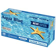 Aqua Blue® Nitrile, Powder Free Gloves, 200/Pkg