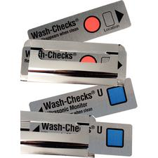 Wash-Checks® Cleaning Monitors, 50/Pkg