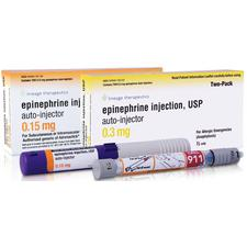 Epinephrine Injection – Auto-Injector, 2/Pkg