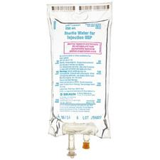 Sterile Water for Injection, USP – Preservative Free, Diluent, Flexible Bag 250 ml, NDC 00264-7850-20