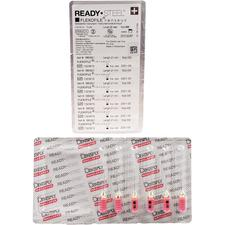 Limes READY•STEEL™ Senseus® FlexoFile® – Acier inoxydable, stérile, 6/emballage