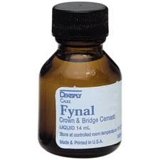 Fynal® Crown & Bridge ZOE Permanent Cement, Liquid (14 ml) Refill