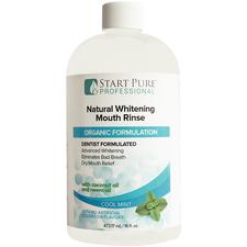 Start Pure Pro™ Natural Mouth Rinse – Whitening, Organic, 16 oz, 12/Pkg