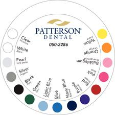 Patterson® Ligature Color Wheel