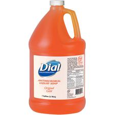 Dial® Liquid Antibacterial Hand Soap with Moisturizer – Gold, Gallon