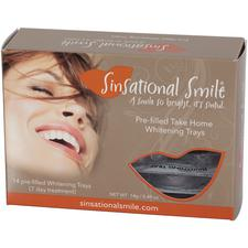 Sinsational Smile® Prefilled Take-Home Whitening Trays – 25% Carbamide Peroxide, 6/Pkg