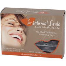 Sinsational Smile® Prefilled Take-Home Whitening Trays – 25% Carbamide Peroxide, 6/Pkg