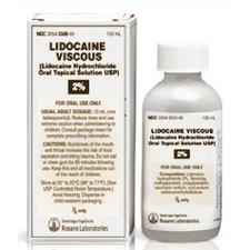 Lidocaine Hydrochloride Oral Topical Solution USP, 2% – 100 ml Bottle, NDC 00054-3500-49