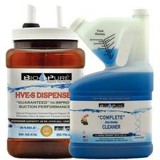 Bio-Pure® Liquid eVac Cleaner (LSF) and Dispenser